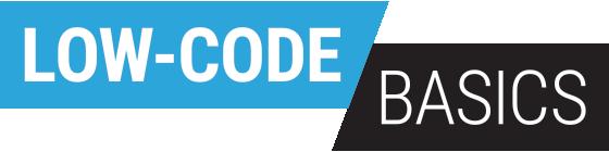 low code basics
