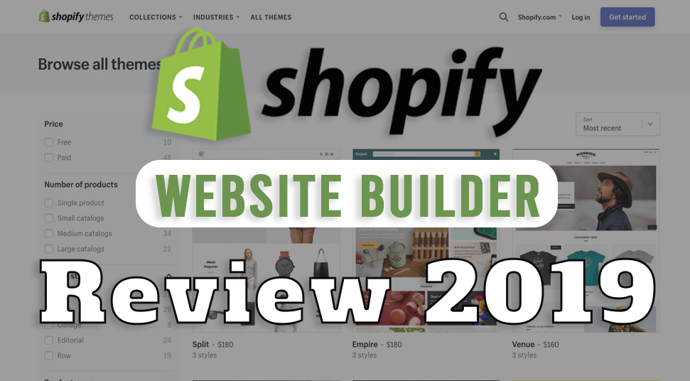 Shopify Website Builder Review