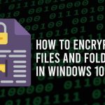 how to encrypt files