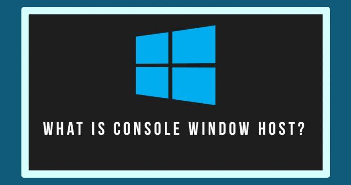 console window host