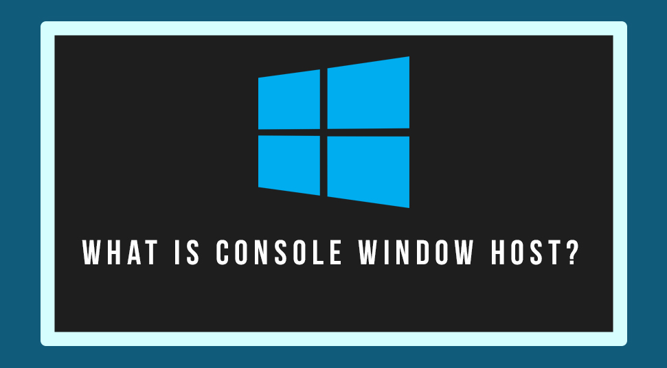 console window host