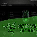 razer synapse not working